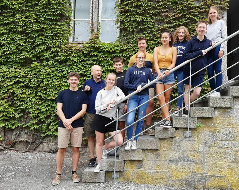 Cours de français Maredsous: 16 - 21.08