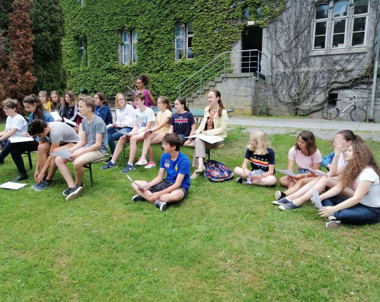 Cours de français Maredsous: 18 - 23.08